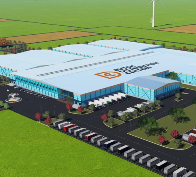 Dutch distribution center