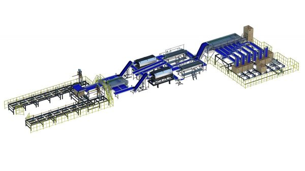 onion processing line of Allround vp