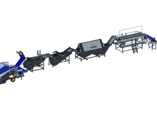 Industrial potato washing line 500 series (1)