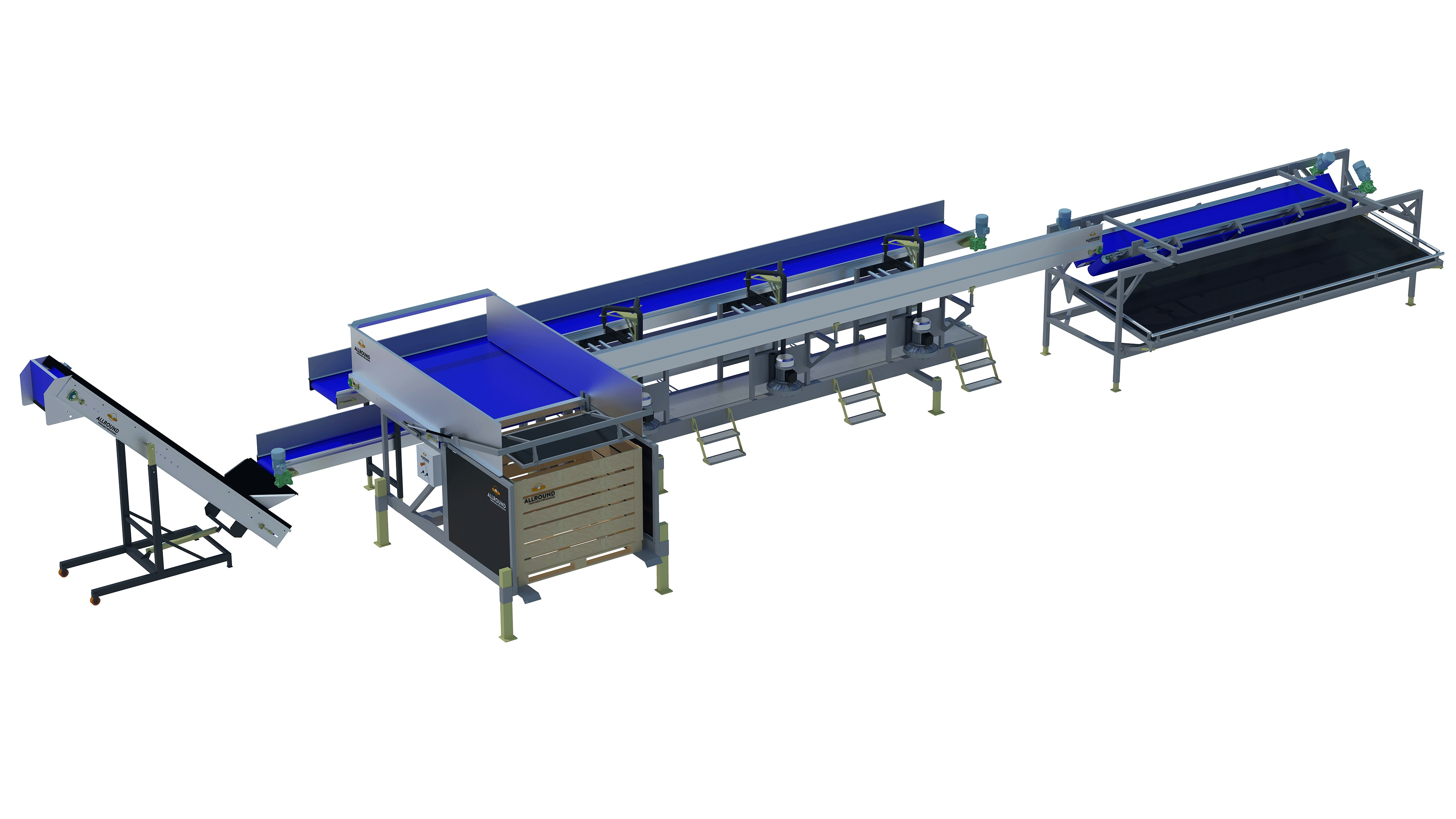 Cabbage cleaning line of allround vp