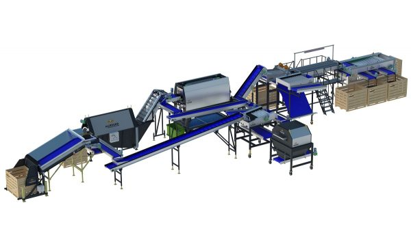 Multi product processing line