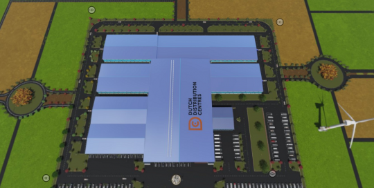 topview dutch distribution centre