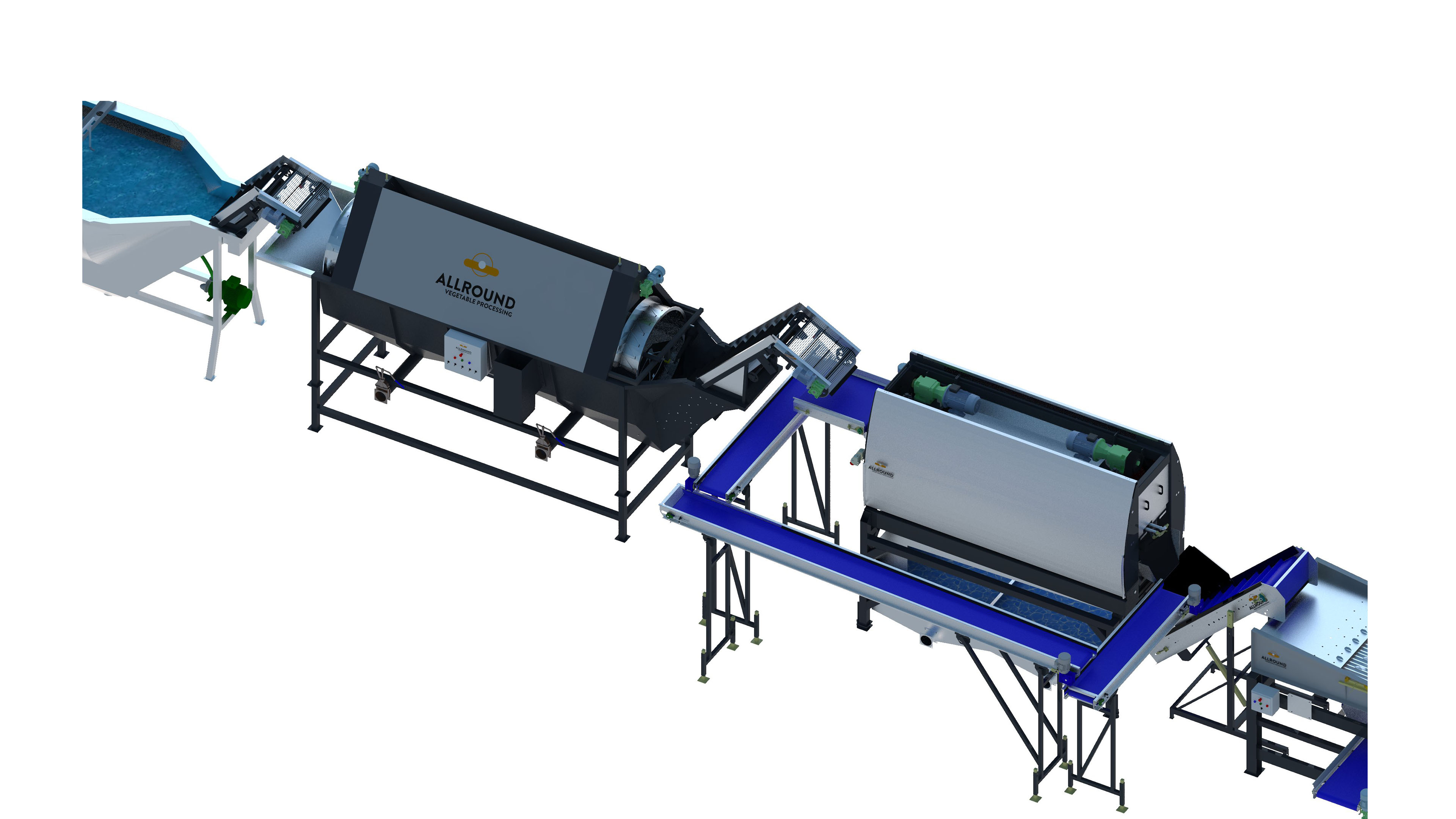 carrot-processing line-450-2