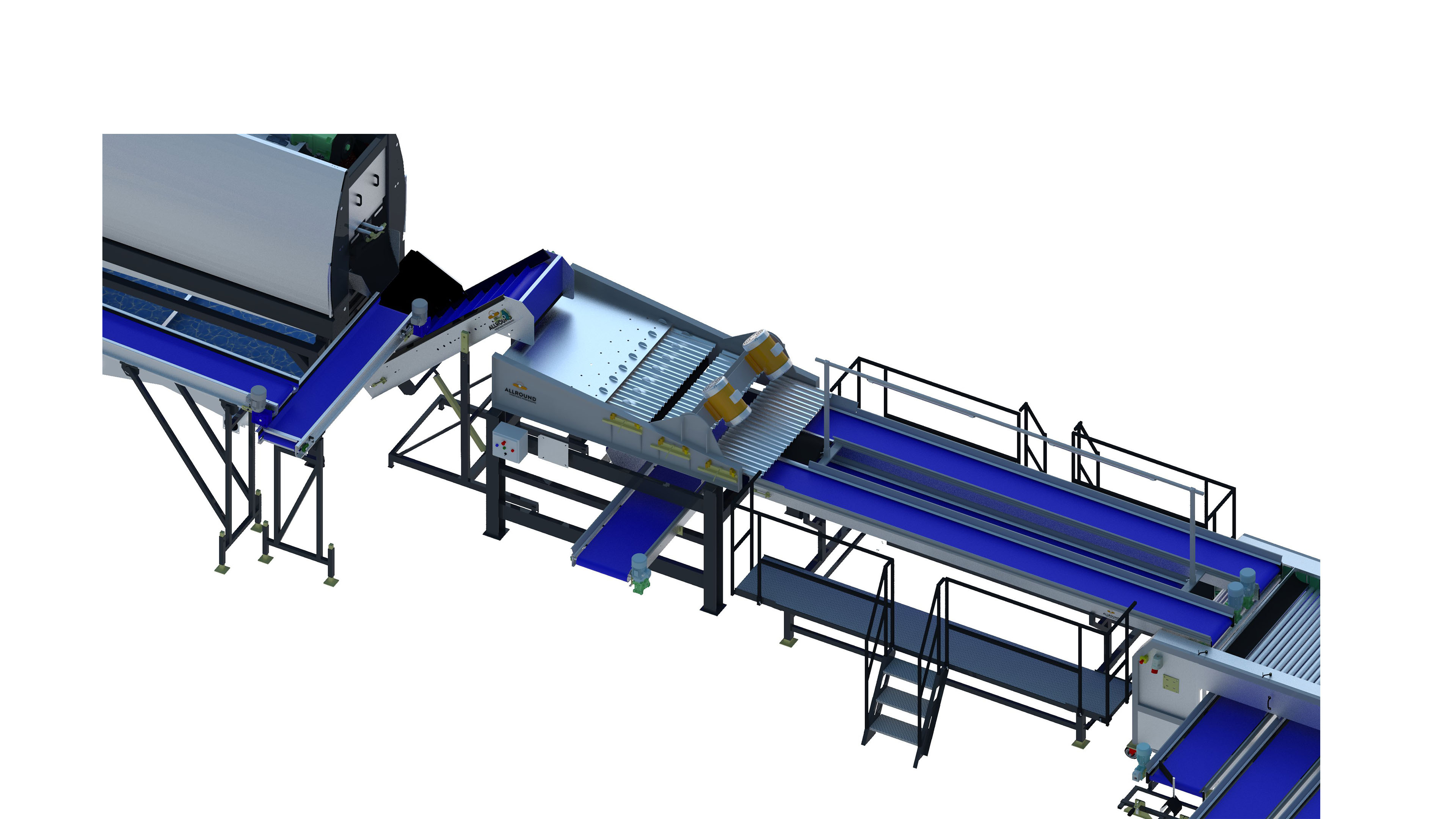 carrot-processing line-450-4