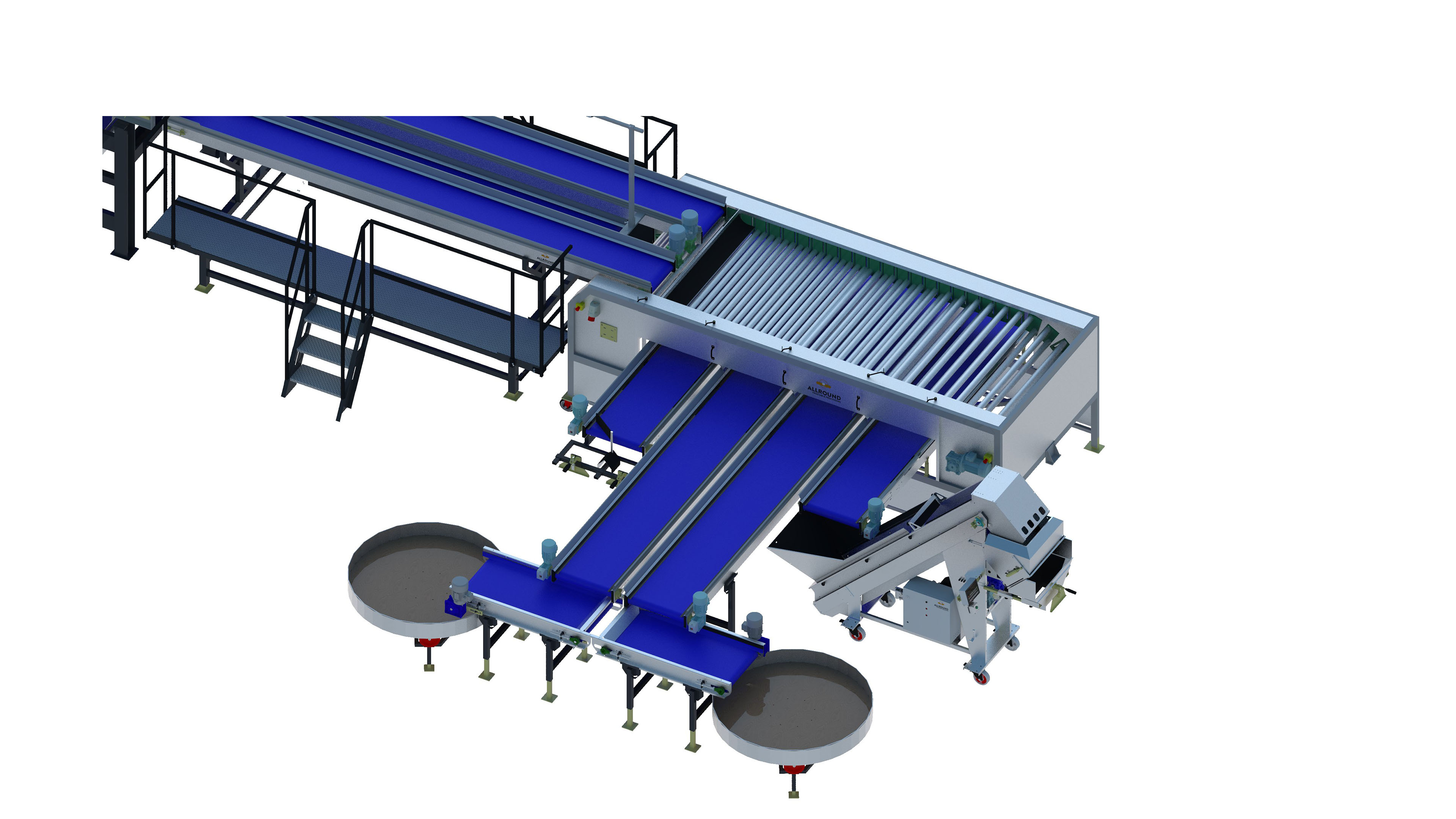 carrot-processing line-450-5