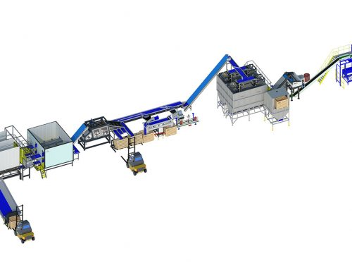 Onion processing line double A3 series (2)